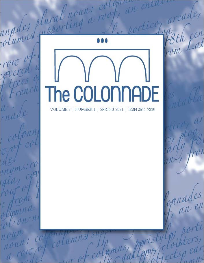 View Vol. 3 No. 1 (2021): The Colonnade